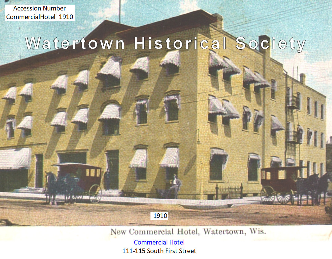 1910 Commerical Hotel