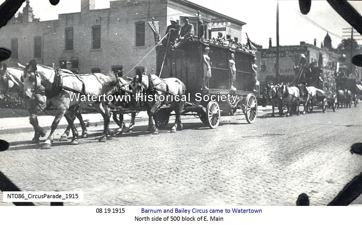 Circus Parade 1915