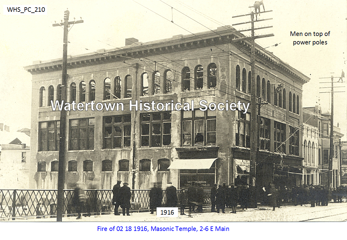 Masonic Temple, Original