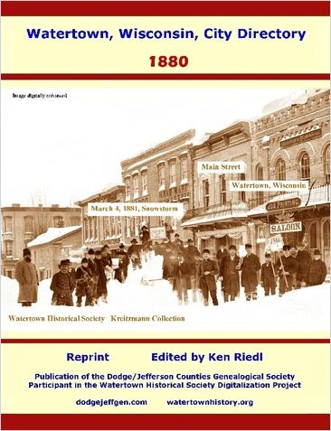 Watertown Remembered (Hometown Series of Publications)
