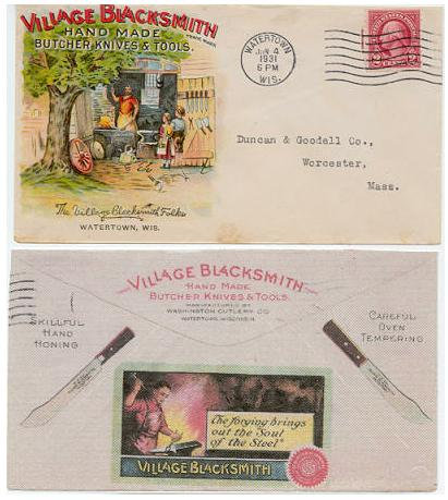 Envelope Ad Cover