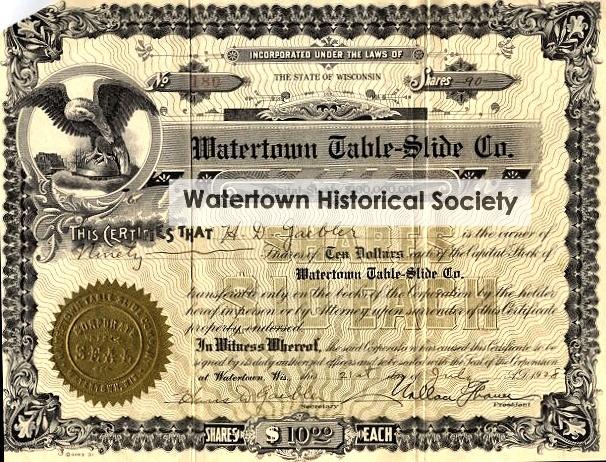 Watertown Table Slide