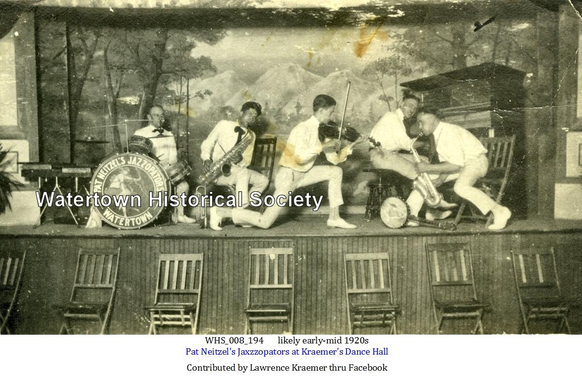 Neitzel, Pat, 1920s, At Kraemer's Dance Hall, Whs_008_194