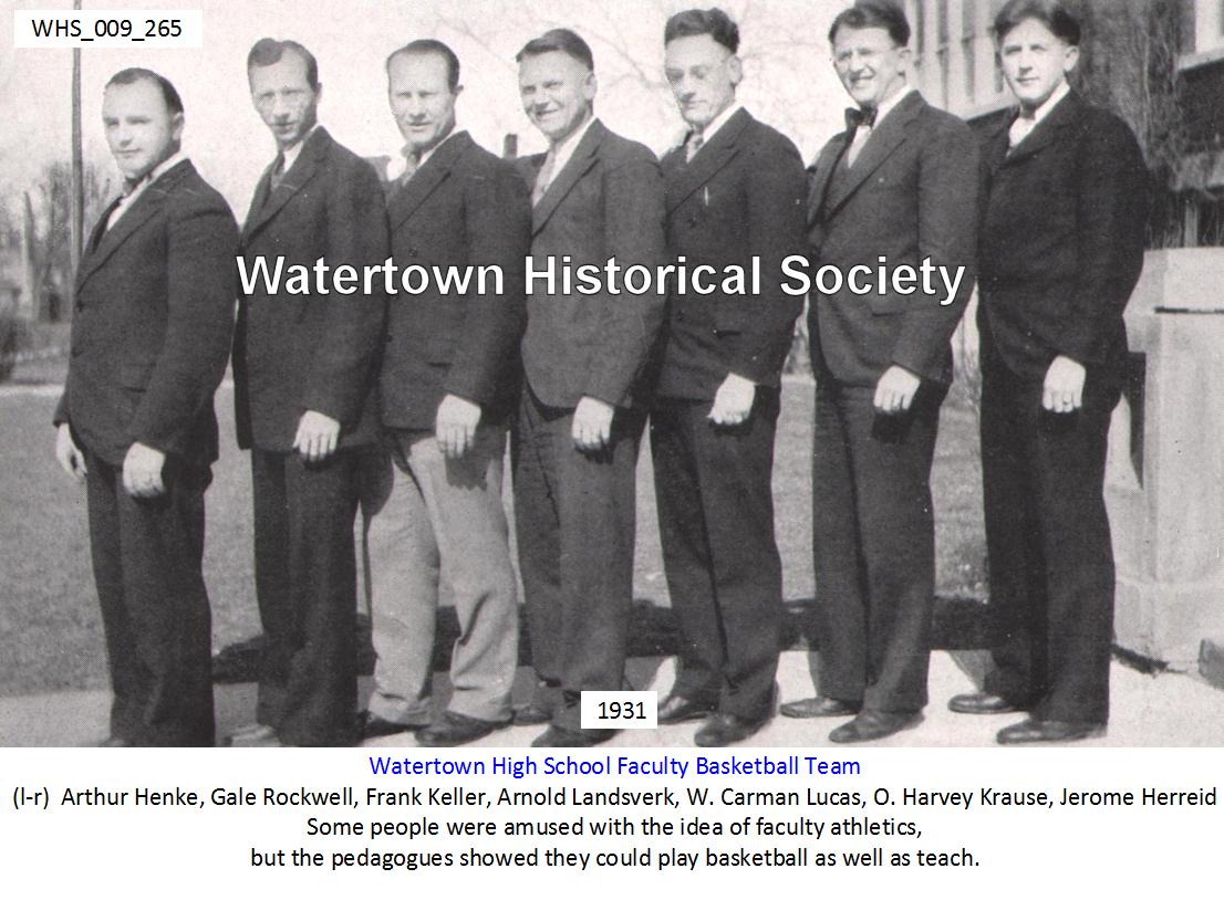 1931 Watertown High School Orbit