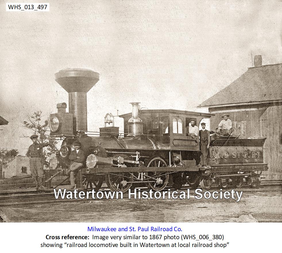 Railroads and Watertown